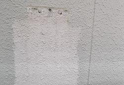 焼津市 給湯器外し跡の塗装補修