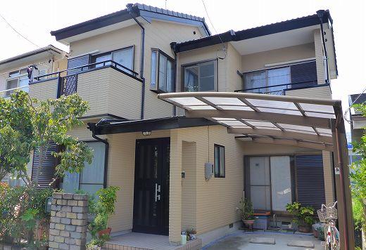静岡市駿河区 外壁屋根塗装 K様 ガイナ塗装