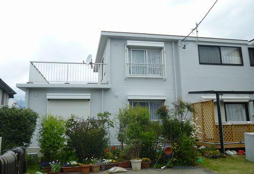 静岡市清水区 外壁屋根塗装工事 河野様 ガイナ塗装