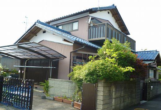 静岡市清水区 外壁塗装 坂本様 ガイナ塗装