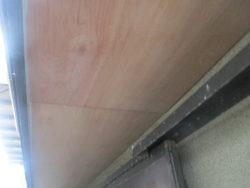 外壁塗装前に軒天補修をしました。