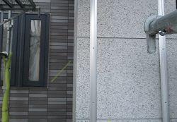 屋根釘〆、外壁目地カバー取付