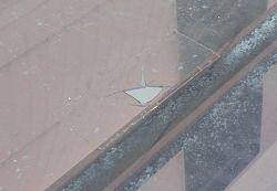テラスポリカ板屋根補修