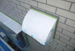 【焼津市】外壁塗装工事で樋と鼻隠しの塗装