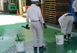 塗床の防滑工事
