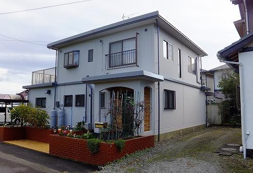 島田市岸町 ガイナ外壁屋根塗装工事 Y様