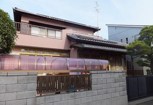 焼津市三ケ名 ガイナ外壁塗装工事 S様