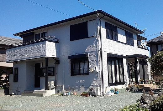 島田市金谷栄町 外壁屋根塗装工事 K様