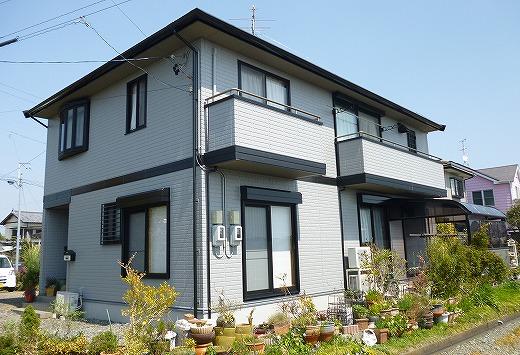 藤枝市与左衛門 外壁屋根塗装工事 Y様
