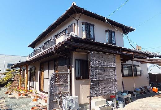 藤枝市小石川町 外壁塗装工事 M様