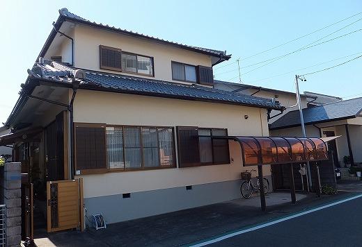 藤枝市前島 外壁塗装・屋根漆喰工事 Y様