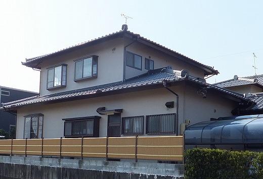 島田市東町 外壁塗装工事 S様