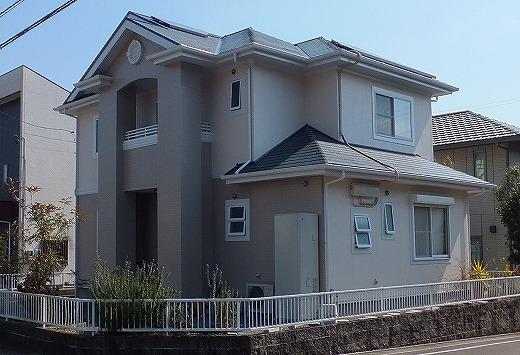 島田市ばらの丘 外壁屋根塗装工事 I様