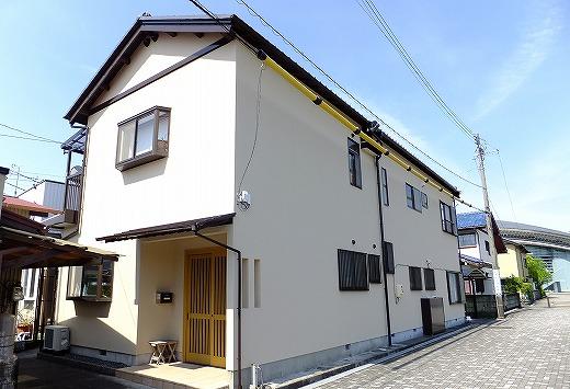 焼津市保福島 ガイナ外壁塗装工事 A様