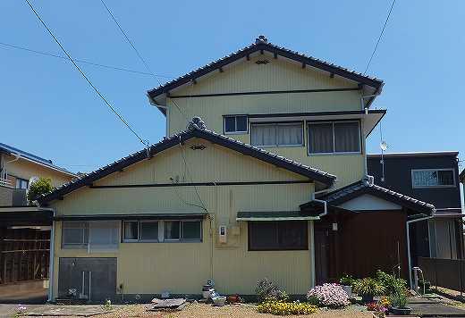島田市岸町 外壁塗装工事 S様