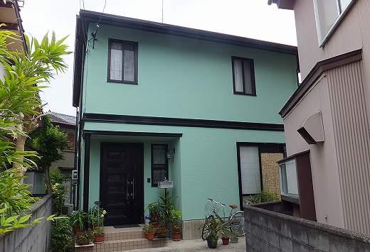 静岡市駿河区 ガイナ外壁屋根塗装工事 N様