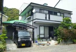 静岡市葵区 ガイナ外壁屋根塗装工事