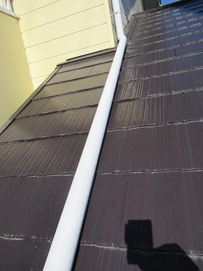 1階屋根の這い樋