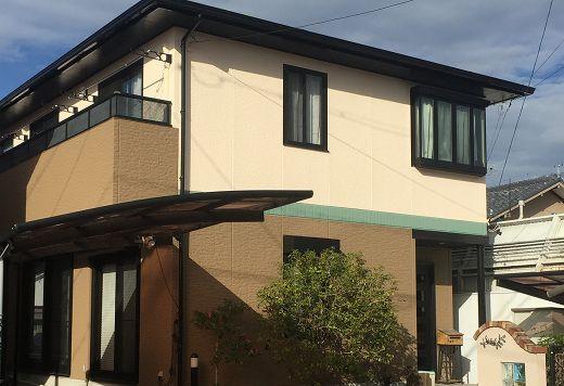 藤枝市 外壁屋根塗装 佐藤様 ガイナ塗装