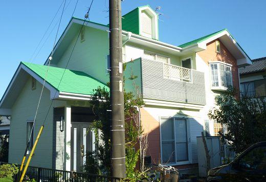 牧之原市 外壁屋根塗装 H様 ガイナ塗装
