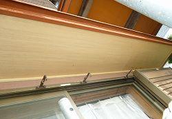 【焼津市】外壁塗装と一緒に塗装する、軒の天井、鼻隠し、樋の塗装