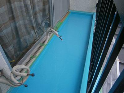 ウレタン防水処理